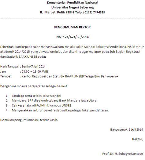 contoh surat dinas resmi bahasa indonesia indra