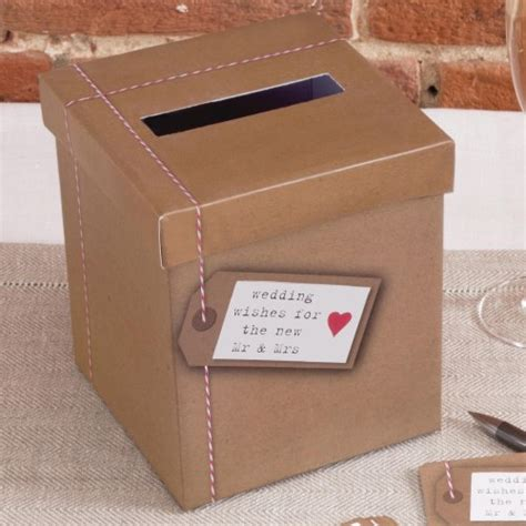 Wedding Wishes Box by Just My Type Wedding Wishes Box