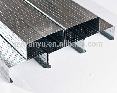 Metal Ceiling Track by Metal Stud Track For Drywall Or Suspended Ceiling Buy