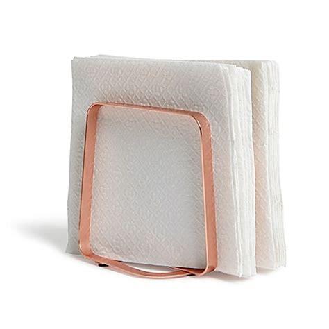 bathroom napkin tray buy umbra 174 pulse napkin holder in copper from bed bath beyond