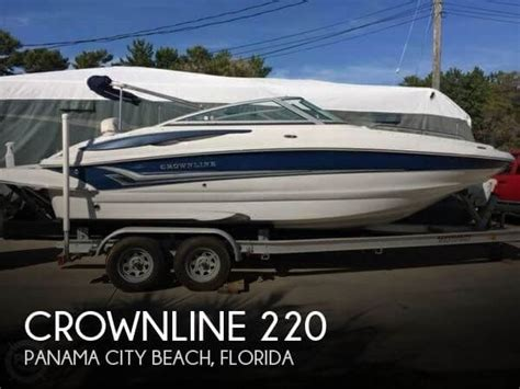 crownline boats for sale florida crownline 220 boats for sale in panama city beach florida