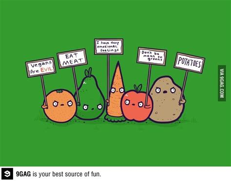 complex carbohydrates 9gag anti vegan protest funniest things