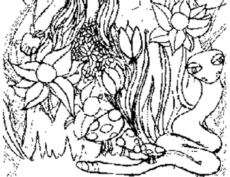 garden of eden coloring pages free printable garden of eden coloring page