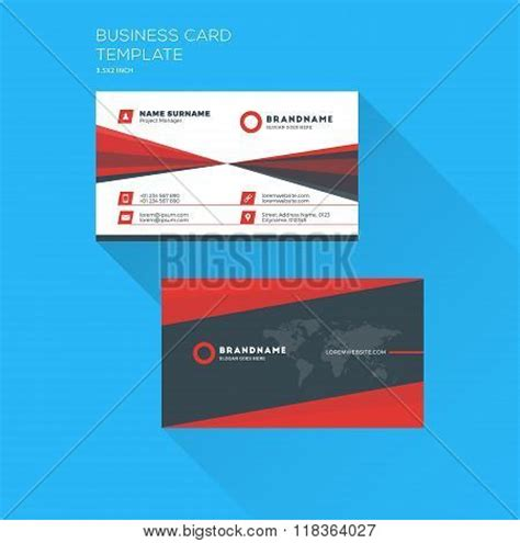 personal id card template corporate business card print template personal visiting