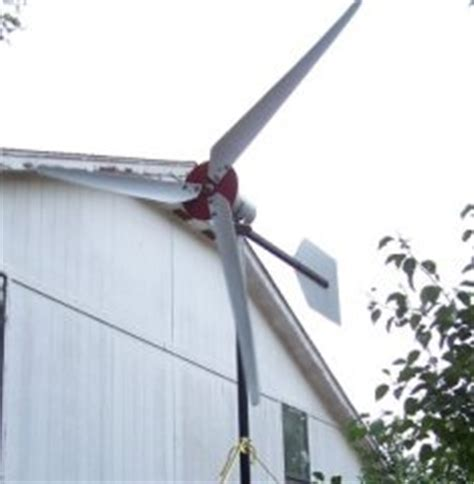 Backyard Wind Power by 10 Generators For Running Small Appliances And