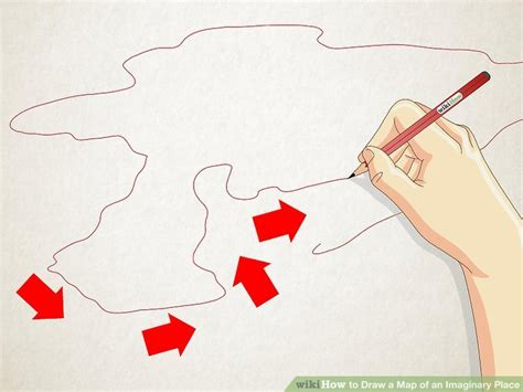 draw a map how to draw a map of an imaginary place 12 steps with
