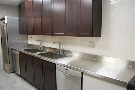 How To Stainless Steel Countertops by 1000 Images About Stainless Steel Countertops On