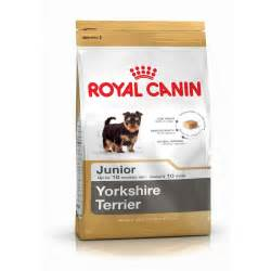 yorkie puppy treats royal canin terrier junior 1 5kg complete puppy food at burnhills