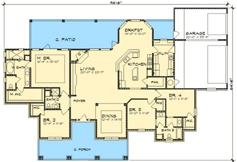 hill home design plans hill country home plan 36821jg architectural designs