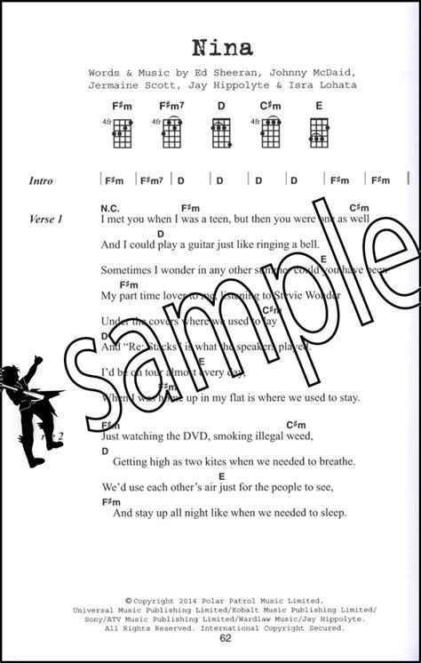 ukulele tutorial a team ed sheeran ukulele chord songbook x plus multiply a team