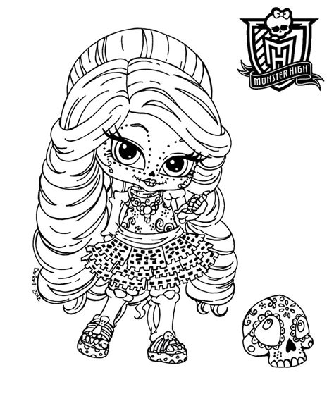 dibujos para colorear de monster high de beb s dibujos monster high dibujos para imprimir y colorear monster
