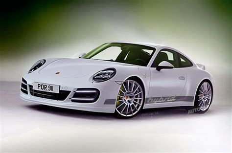 electric porsche 911 petrol electric porsche 911 hybrid due in 2018 autocar
