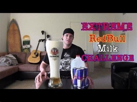 milk challenge redbull and milk challenge
