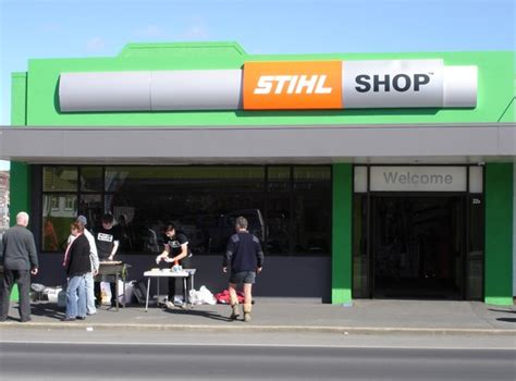Stuhl Shop by Local Businessman Brings The Power Of Stihl Shop To