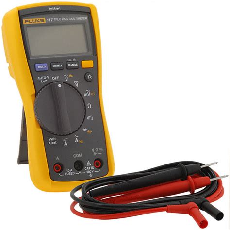Multitester Fluke 117 fluke 117 fluke electronics test and measurement digikey