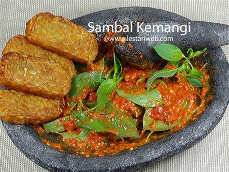 sambal kemangi cocok untuk disantap dengan tempe tahu goreng ikan asin ayam goreng plus