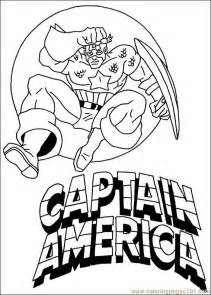 free printable captain america coloring pages kids