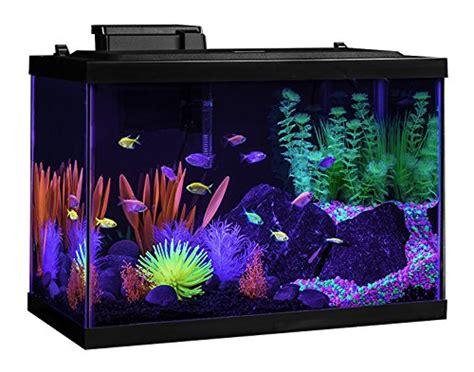 tetra aquarium kit 20 gallon glo fish frustration free