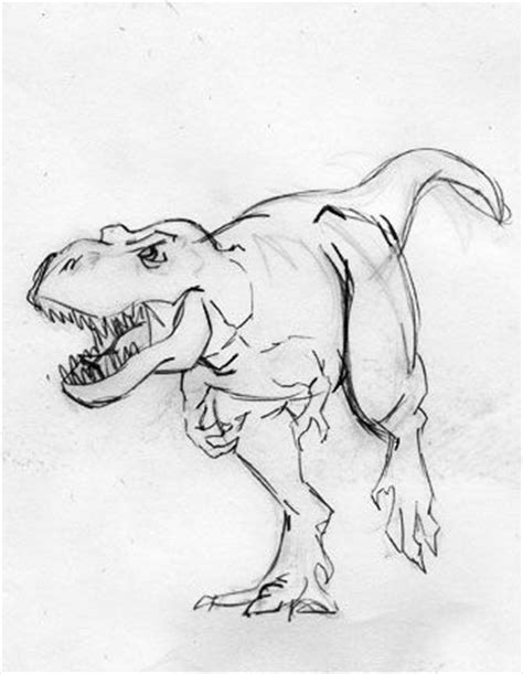 doodle dinosaur draw ruptor cool dinosaur drawing image drawings