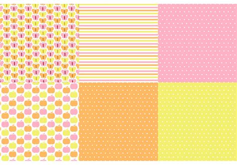 ai pattern matching butterfly polka dot vector pattern set download free