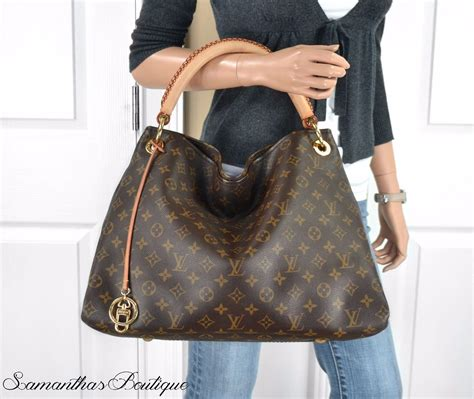 Arsy Bag Brown louis vuitton handbag monogram canvas artsy mm m40249