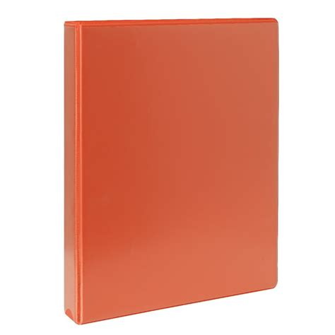 Insert Ring Binder 2 D A4 25 Mm 8522 07 Bantex j burrows insert binder a4 2 d ring 25mm orange officeworks