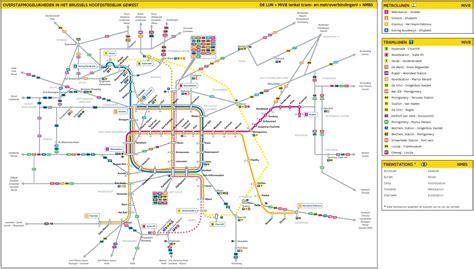 belgium brussels map brussels tram map