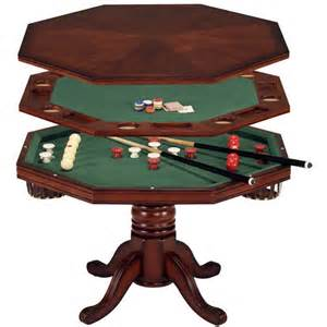room furniture 3 in 1 bumper pool table from boraam