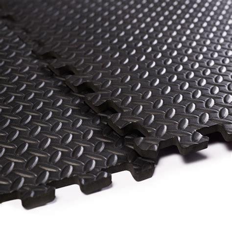 Interlocking Foam Floor Tiles Convenience Boutique Interlocking Foam Flooring Tiles Mats 48 Sq Ft Black