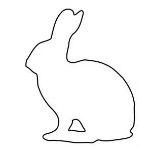 Rabbit Pictures Outline file outline of a bunny svg wikimedia commons