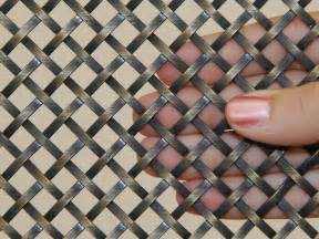 Reface Kitchen Cabinets decorative metal mesh panels flat wire mesh panels for