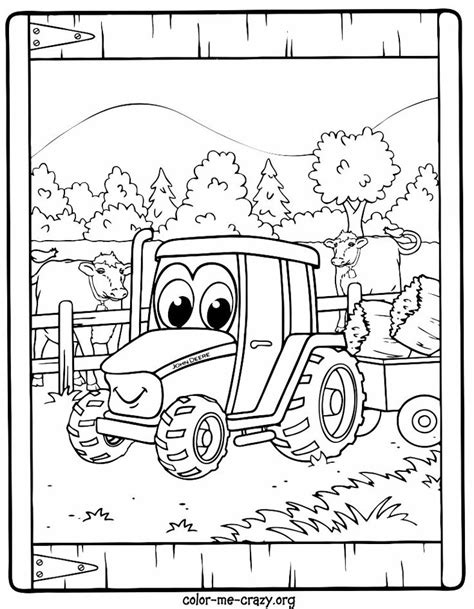 Johnny Tractor Coloring Page | johnny tractor coloring pages kids bday parties pinterest