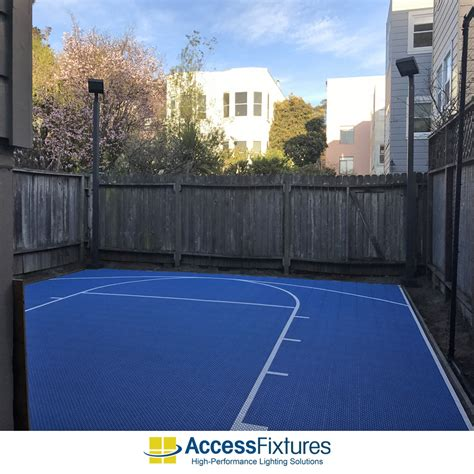 outdoor basketball courts with lights outdoor basketball court led lighting in san francisco