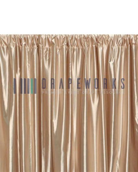 pipe n drape polyester knit silver drapeworks