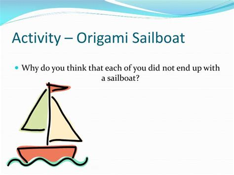 Why Do Do Origami - ppt expression speak for yourself with clarity and