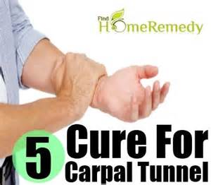 home remedies for carpal tunnel 5 cure for carpal tunnel home remedies