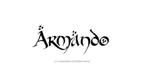 by armando tattoo pictures tattoo design name armando 24 png