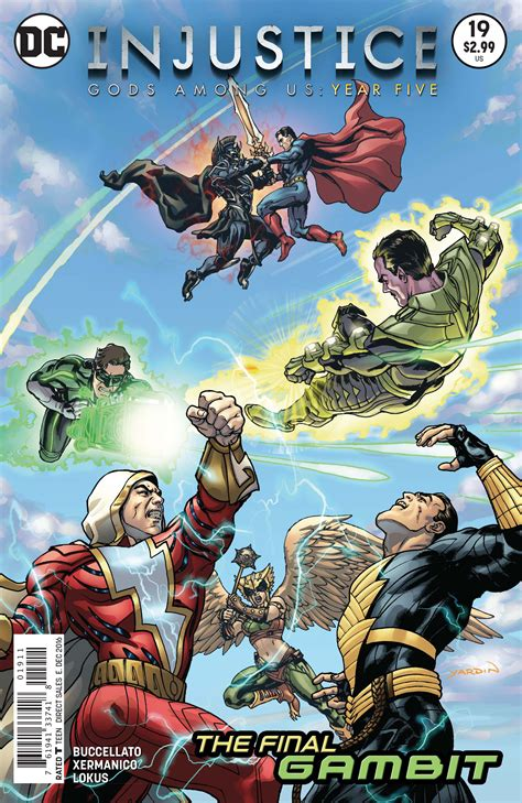 injustice gods among us year five vol 3 injustice gods among us year five vol 1 19 dc database