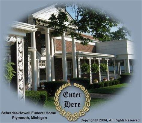 schrader howell funeral home plymouth mi 48170 734 453