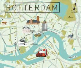 rotterdam netherlands on map rotterdam map see creativee map