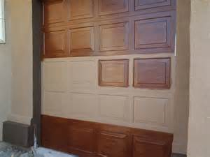 kid friendly luxury home faux wood garage doors