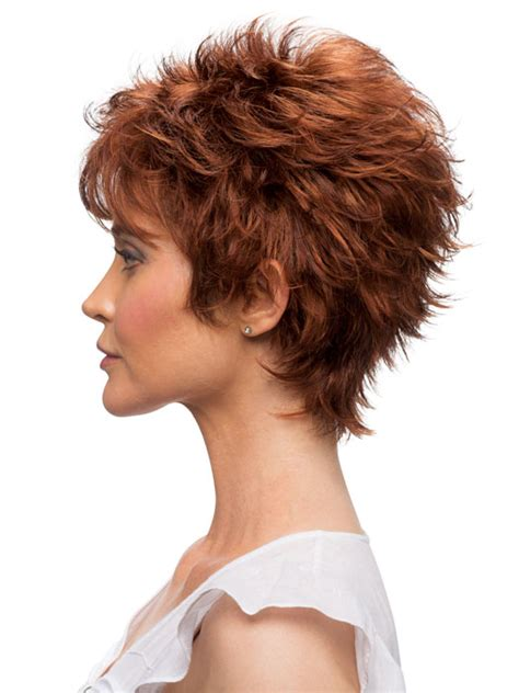 wigs for women over 50 spiky estetica designs rosa wig capless short razor cut with