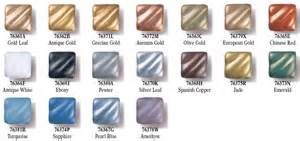 rub n buff colors rub n buff color chart supplies