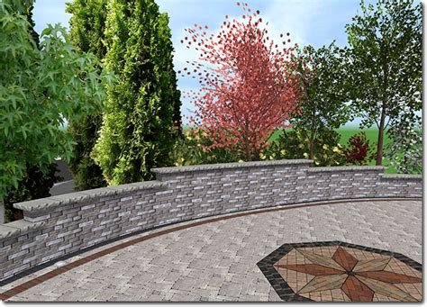 Garden Wall Design Adding A Retaining Wall
