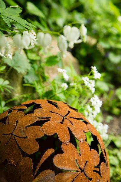 Rost Deko Garten Blume by Dekokugel Rost 216 23cm Blume