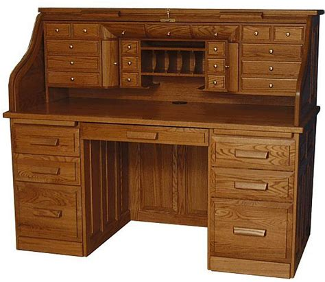 deluxe roll top desk beautifully crafted in the heart of