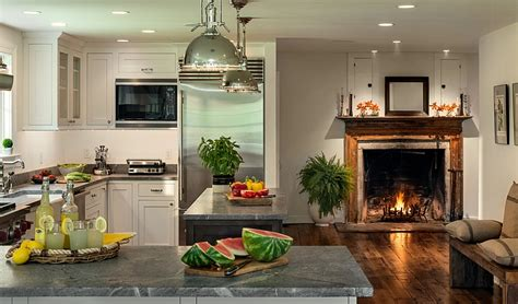 kitchen fireplace designs kitchen corner decorating ideas tips space saving solutions