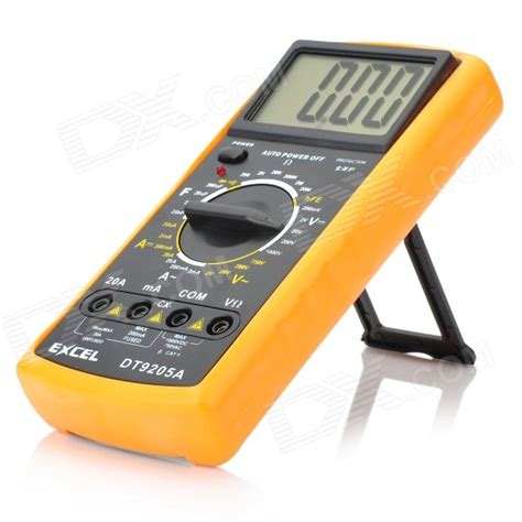 Jakemy Digital Multimeter Jm 9205a 3 dt 9205a 2 8 quot lcd current voltage capacitance resistance digital multimeter 1 6f22 купить с