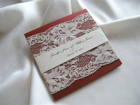 Wedding Invita by Wedding Invitation Lace Wedding Invitation Wedding