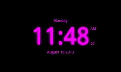 android get current time digital clock live wallpaper 7 android apps on play